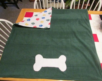 36 x 36 double layer fleece blanket
