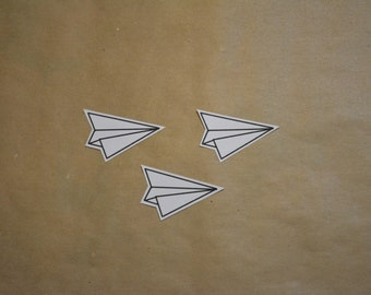 Paper Planes Stickers - Set of 3