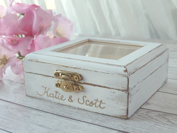 Shabby Chic Pillow Boxes : handmade4all - Wedding Ring Pillow Wedding Ring Box Ring Pillow Bearer - Rustic chic Pillow ...
