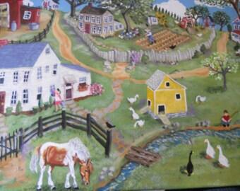 Original Folk Art Painting