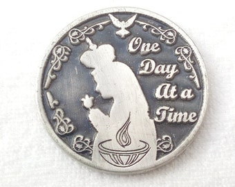 Motivational Love Token Coin - Friend Coin Gift - Sentimental Gift for Him and for Her - Love Token Coin - Friendship Gift- Sentimental Gift