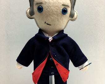 12th Doctor Who Plush