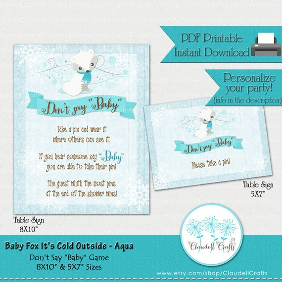 say baby baby shower game card by claudell crafts catch my party