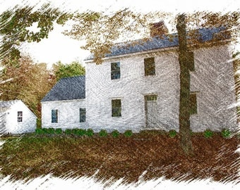 Colonial Home Maine