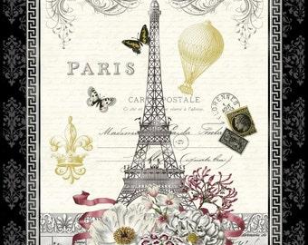 Salon Fleur Paris Fabric