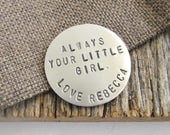 Always Your Little Girl Golf Ball Marker Gift from Bride to Dad Wedding Day Gift Fathers Gift Unique Dad Gifts Birthday Papa Mother's Day