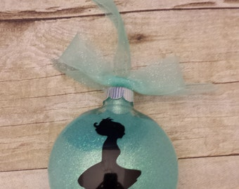Christmas Ornament - Irish Dancer -Aqua