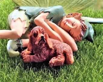 Cute Micro Puppy Figurine Dog Fairy Garden Pets