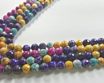 8 mm amethyst semi precious  gemstone,  Gemstone Beads , Gemstone Jewelry , Wholesale Gemstone Beads , Stone Beads ,
