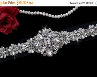 Bridal Belt , Wedding Sash , Wedding Sash Belt , Bridal Sash Belt , Vintage Crystal Rhinestone Sash Belt , Black White Ivory Bridal Belt