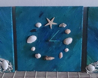 Wall clock Baltic feeling decoration living room Maritim