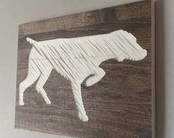 Dog Wooden Wall Carvings Custom