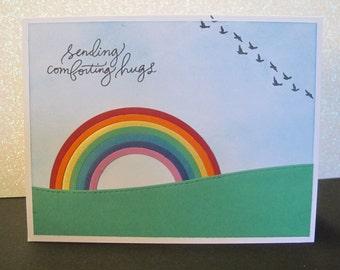 Handmade Pet Sympathy Card