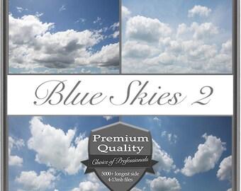 Blue Skies 2 Image Overlays
