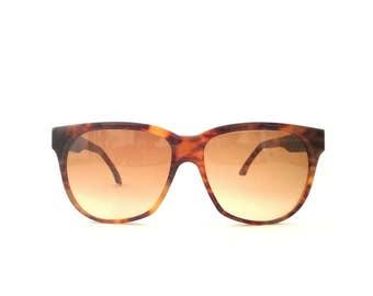 Vintage Sunglasses  Emmanuelle Khanh 5160 sport optique Squared Tortoise 80's  Made in France NOS