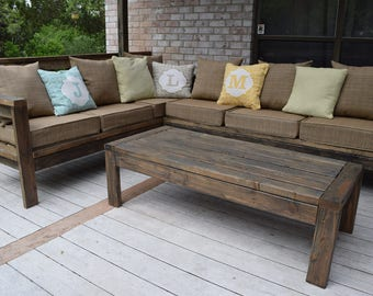 Farmhouse Sectional and Table