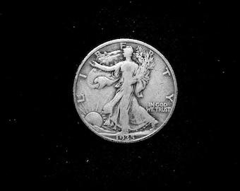 1935 D Walking Liberty Silver Half Dollar #1363 US Coin