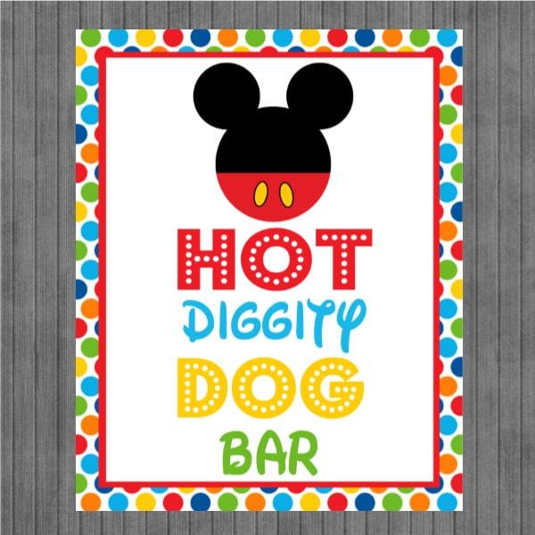 Hot Diggity Dog Mickey