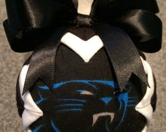 Handmade Carolina Panther Ornament