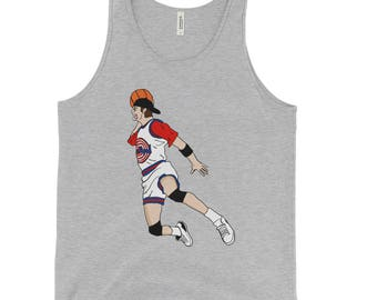 Bill Murray Space Jam Dunk Pose Graphic Tank Top