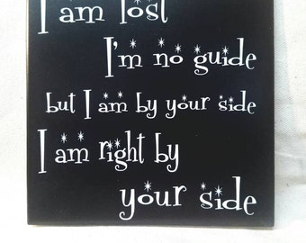 "6""x 6"" Leash Lyrics Choice of Glow or Shiny Tile"