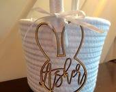 Personalized Easter Basket Name Tag