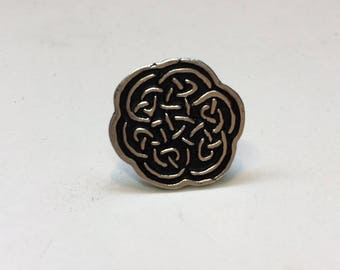 Sterling Silver Celtic Knot Golf Ball Marker