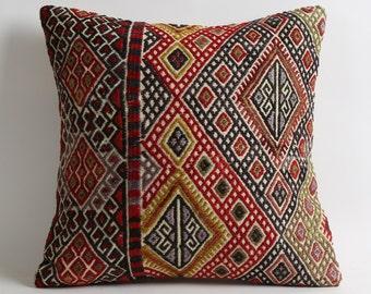 bohemian pillows, accent pillow, tribal pillow, turkish kilim pillow, decorative cushion, bohemian decor, home decor, turkish pillow