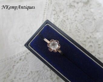 Vintage silver ring 835