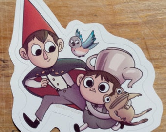 Over the Garden Wall Vinyl Sticker
