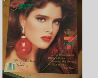 Playboy Magazine Entertainment For Men December 1986 The Women Of 7 Eleven Issue