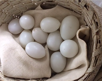Old Glass Brooding Eggs