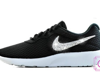 Bling Nike Tanjun Shoes-Custom Shoes-Nike Swarovski-Workout-Nike Shoes-Swarovski Nike-Crystahhled-Bling Sneaker-Nike Glitter Kicks-New Shoes