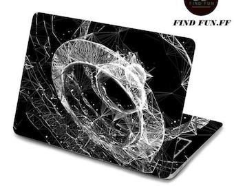 MacBook Air Pro Decal Sticker Ipad sticker Iphone sticker 242heisekongjian