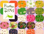 10% HOLIDAY PRESALE Half Yard Bundle(includes 6 solids!) SLEEPING Porch (25) by Heather Ross for Windham Fabrics