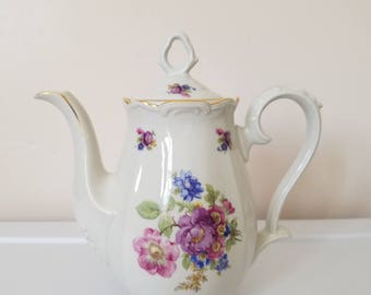 Bareuther  Porcelain Teapot
