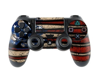Sony PS4 Controller Skin Kit - Old Glory by FP - DecalGirl Decal Sticker