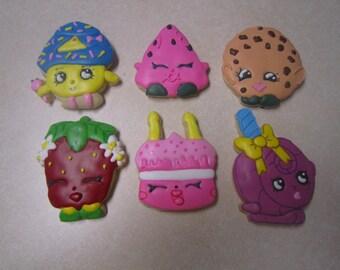 1 Dozen Shopkins Fan Art Cookies Set 2