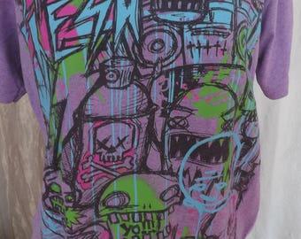 1980s Graffiti Tee Shirt