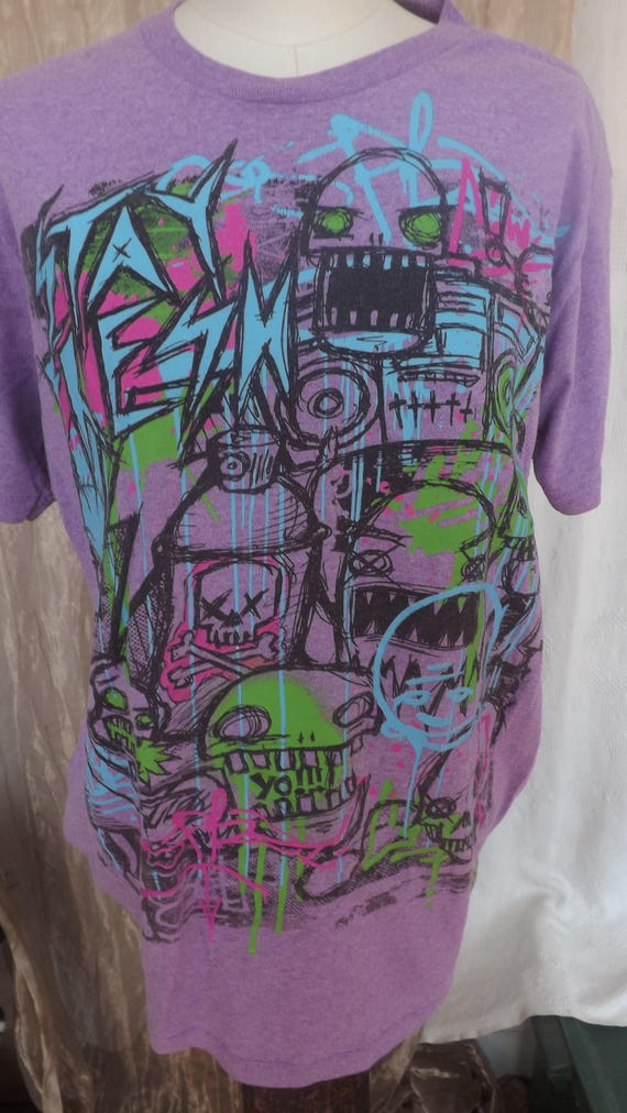1980s Graffiti Tee Shirt