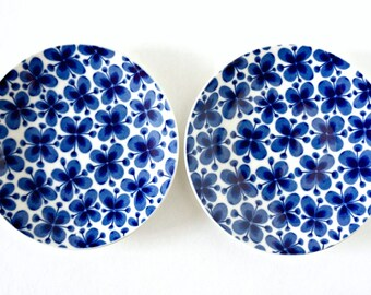 Vintage Rorstrand Mon Amie Marianne Westman Mid Century small plates / side plates