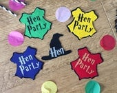 Harry Potter style  hen party badge, harry potter bachelorette badge,  geeky hen party badge, harry potter bridal shower badge