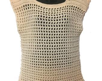 Crochet Women's Tunic Top