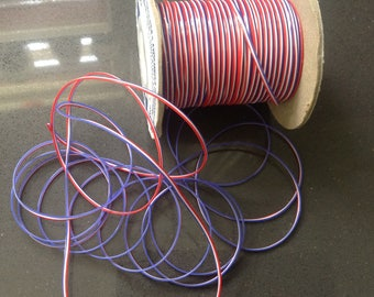 Plastic cord - 4th of July craft supply