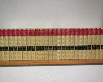 1967 Complete set of 25 FUNK & WAGNALLS ENCYCLOPEDIAS A thru Z