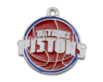 Detroit Pistons Logo Charm-Qty:1