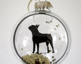 Boston Terrier, Ornament, Dog Lover, Dog Gifts