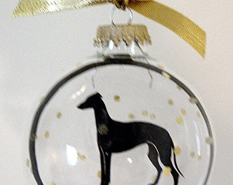 Greyhound  Ornament Dog Gifts for Dog Lovers