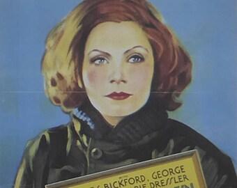 Anna Christie - Greta Garbo  - Movie Poster - Framed Picture 11 x 14