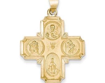 Four-Way Medal Pendant (JC-1158)
